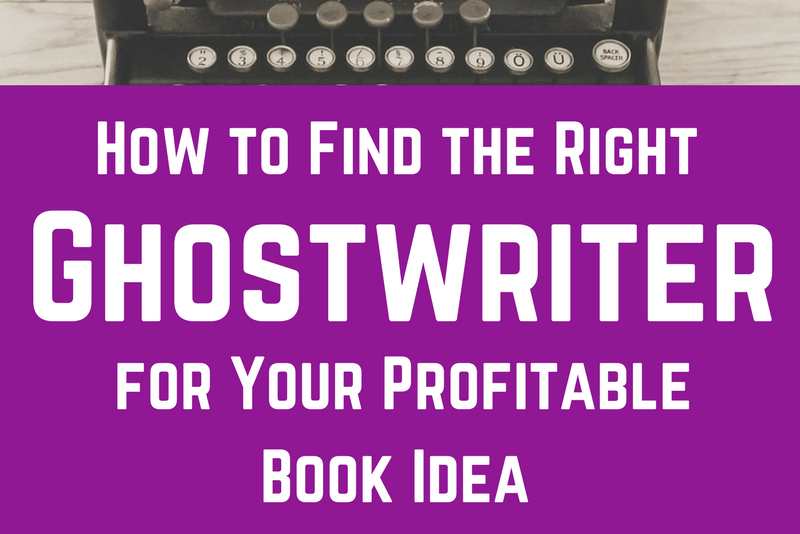 Find a ghostwriter your book